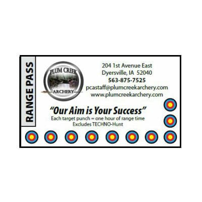 Range Membership & Pass Punch Card thumbnail